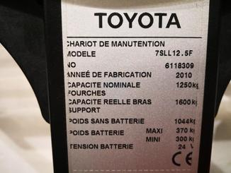 Gerbeur à plate-forme rabattable Toyota 7SLL12.5F - 10