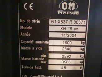 Chariot à mât rétractable OM XR16AC