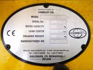 Chariot élévateur latéral multidirectionnel Combilift C3000EST