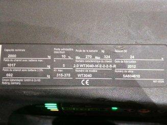 Transpalette porté debout Crown WT3040