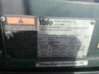 Chariot élévateur frontal 4 roues Yale GDP55VX
