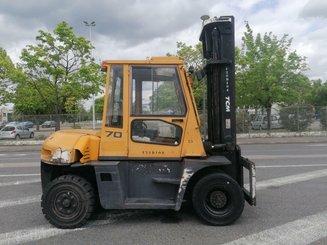 Chariot élévateur frontal 4 roues TCM FD70-9